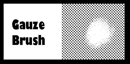 Clip Studio Gauze Brush