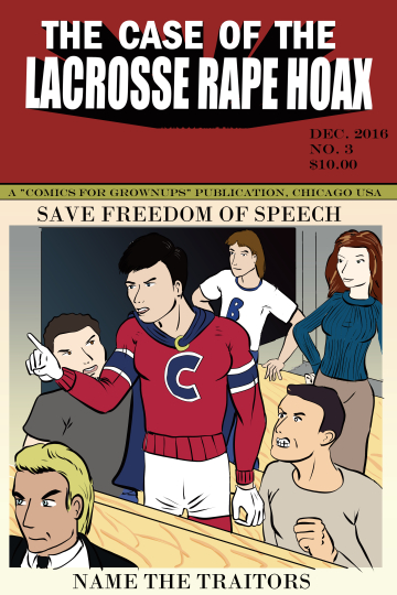 Cover image of 'Lacrosse Rape Hoax #3'