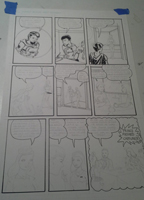 Making a comic page, photo 10