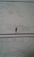 Making a comic page, photo 7