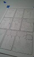 Making a comic page, photo 9