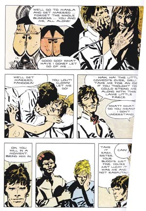 Corto Maltese in the Ballad of the Salt Sea